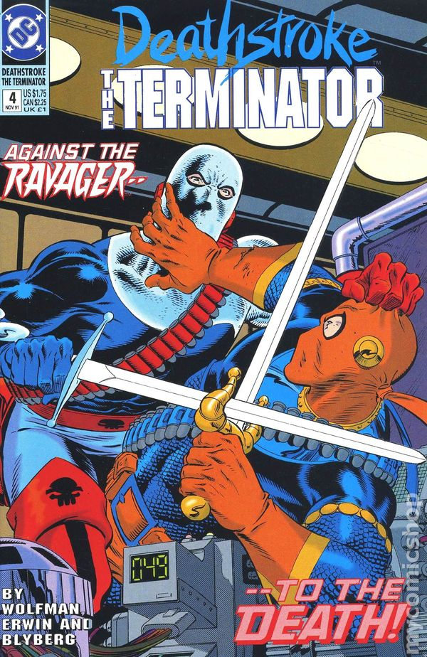 Deathstroke the Terminator (1991) comic books Deathstroke And Ravager