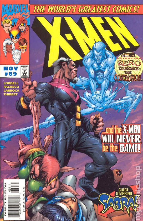 #99 April 2000 Marvel NM 1991 Series 9.2 X-Men