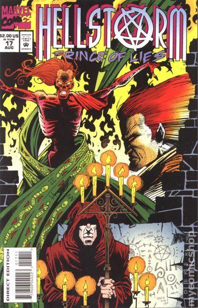 hellstorm prince of lies  1993  comic books