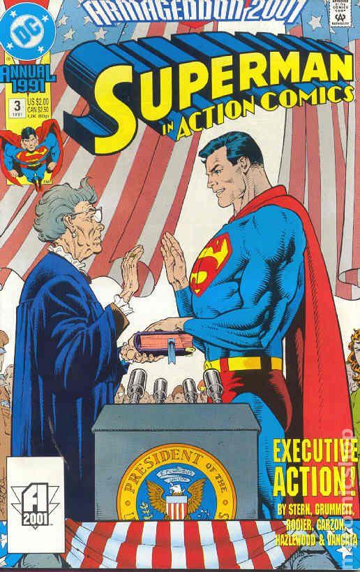 Comic books in 'Armageddon 2001'