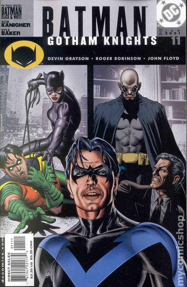 BATMAN GOTHAM KNIGHTS #1 NEAR MINT 2000 DC COMICS