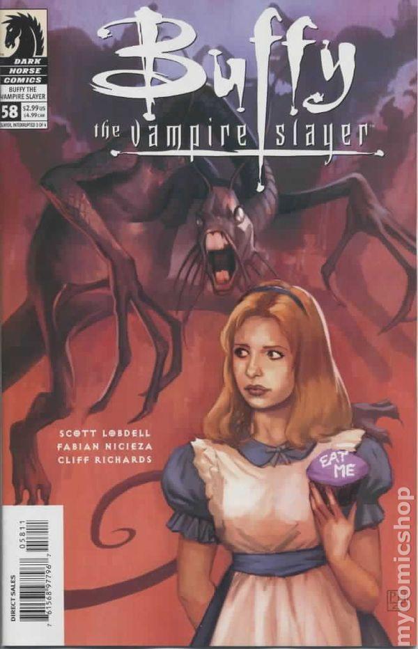diary-entries_Buffy the Vampire Slayer (1998 1st Series) comic books