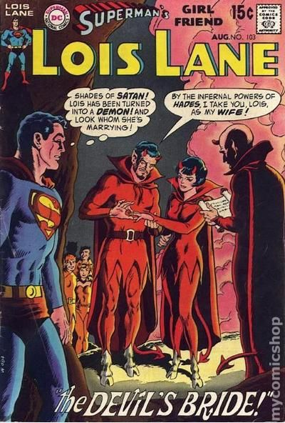 caa0078bf Superman's Girlfriend Lois Lane (1958) comic books