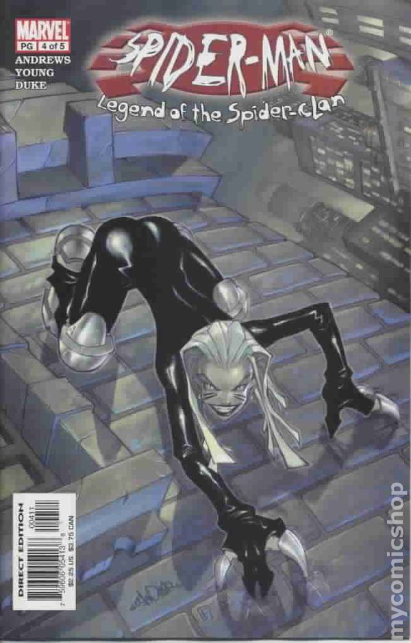 Spider-Man Legend of the Spider Clan (2002) comic books