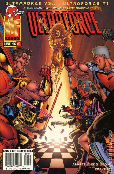 Ultraforce (1995 Malibu/Marvel) comic books