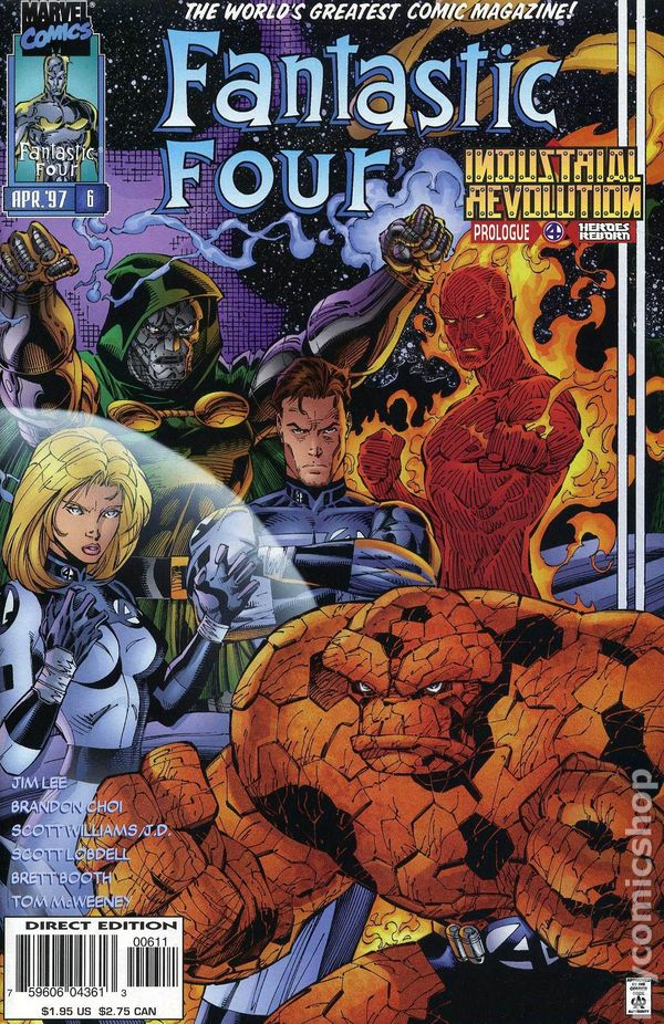 fantastic four  1996 2nd series  comic books