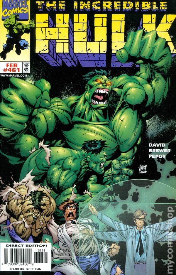 Incredible Hulk #467 VF 1998 Stock Image