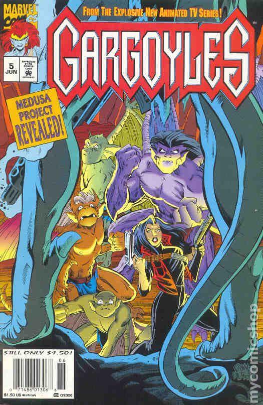 Gargoyles 1995 Marvel Comic Books