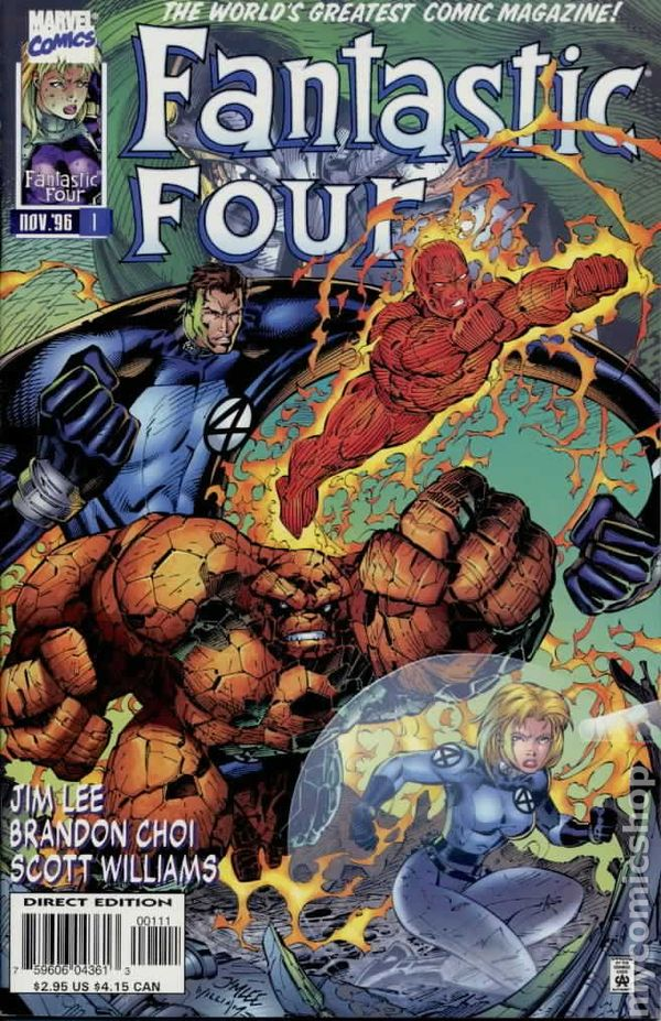 Fantastic Four 1996 2nd Series Comic Books