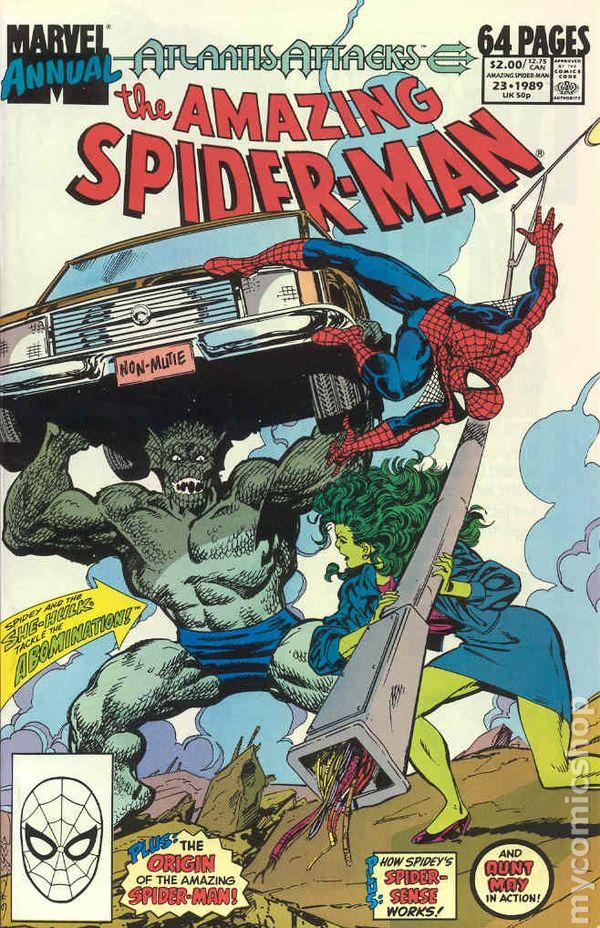 1989 1963 VOLUME 1 NEAR MINT AMAZING SPIDER MAN ANNUAL #23 VERY FINE