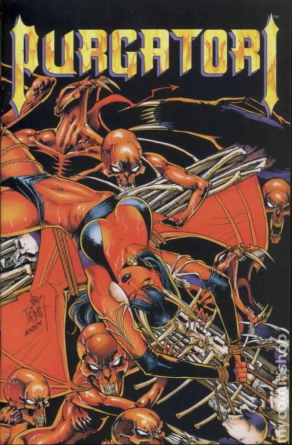 Comics The Vampires Myth No 2 of 3 Purgatori #2 1996 New stock Chaos