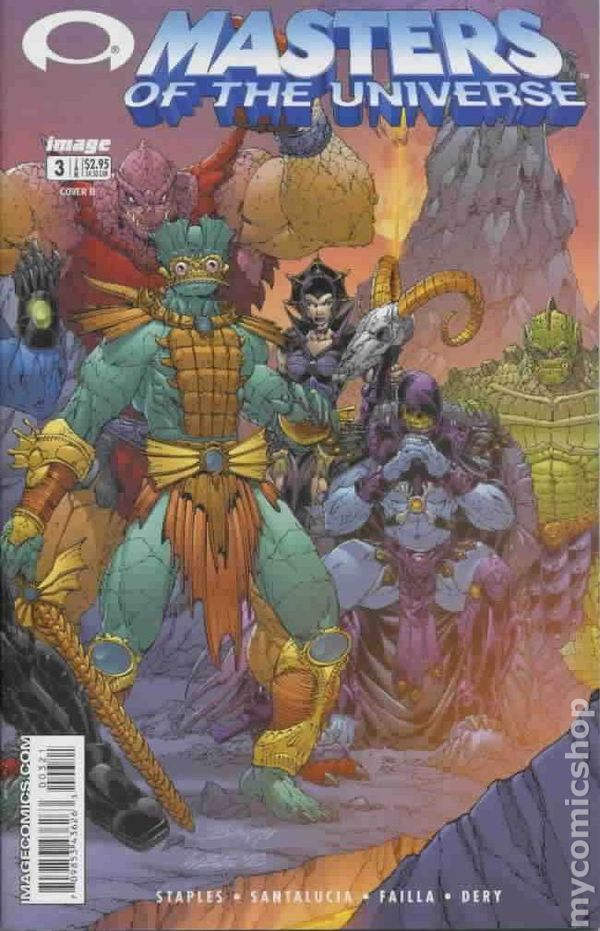 MASTERS of the UNIVERSE #3b ~ VF//NM Book 2002 IMAGE Comics He-Man