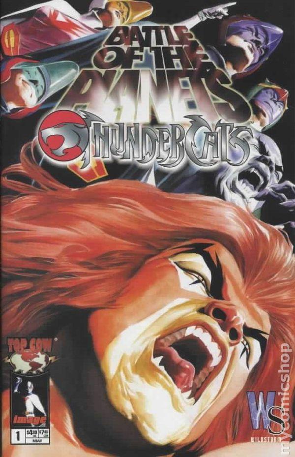 Battle of the Planets Thundercats (2003) comic books
