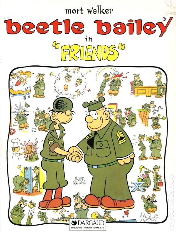 beetle bailey coloring pages - photo#42