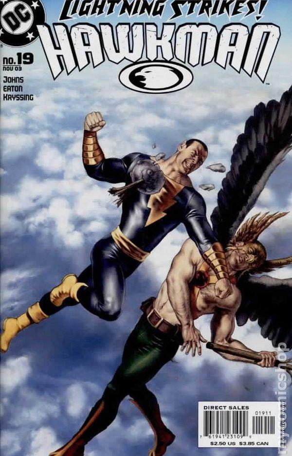 Hawkman 2002 series # 49 near mint comic book