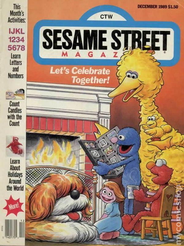 Sesame Street Magazine comic books