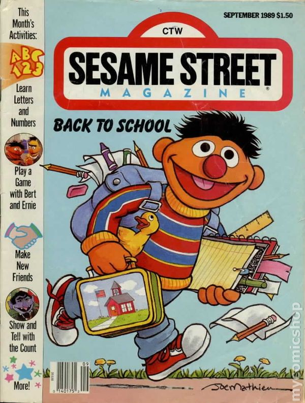 Sesame Street Magazine comic books