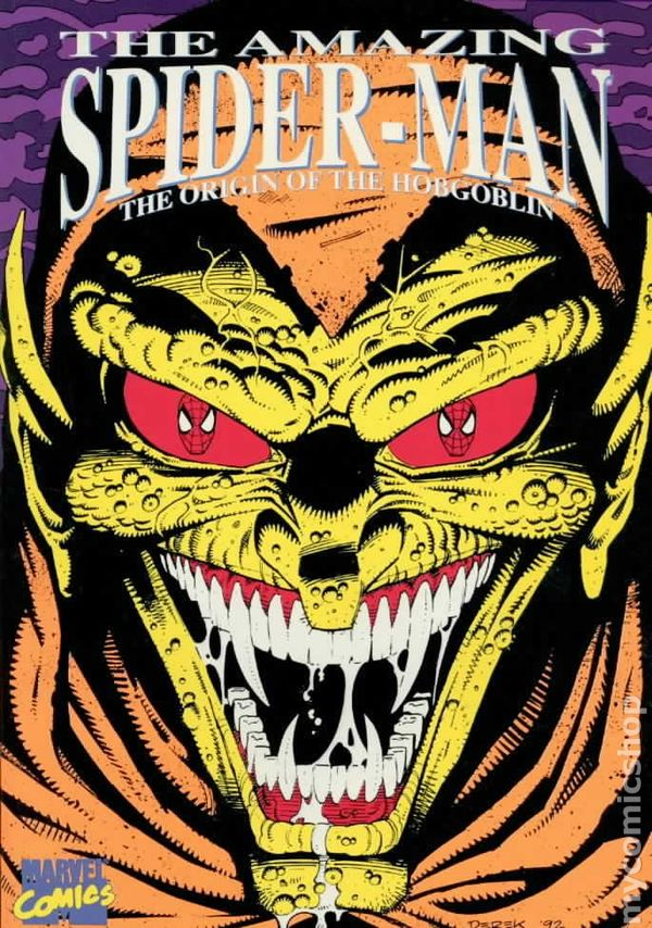 Amazing Spider-Man The Origin of the Hobgoblin TPB (1992 ...