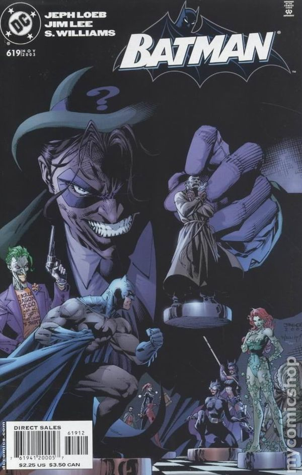 Comic Books In Batman Hush