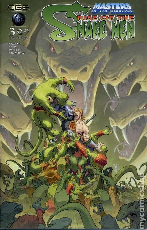 Masters Of The Universe Rise Of The Snake Men 2003 Comic