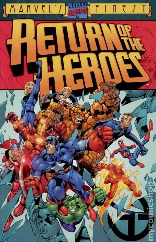 Image result for Heroes Reborn marvel comics