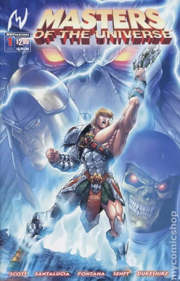 Masters Of The Universe 2004 3rd Series Comic Books