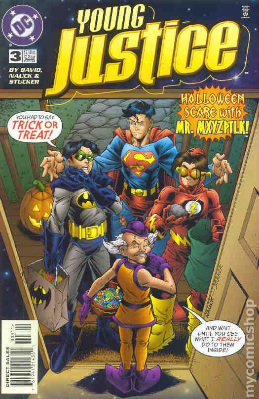 Young Justice 1998 Comic Books