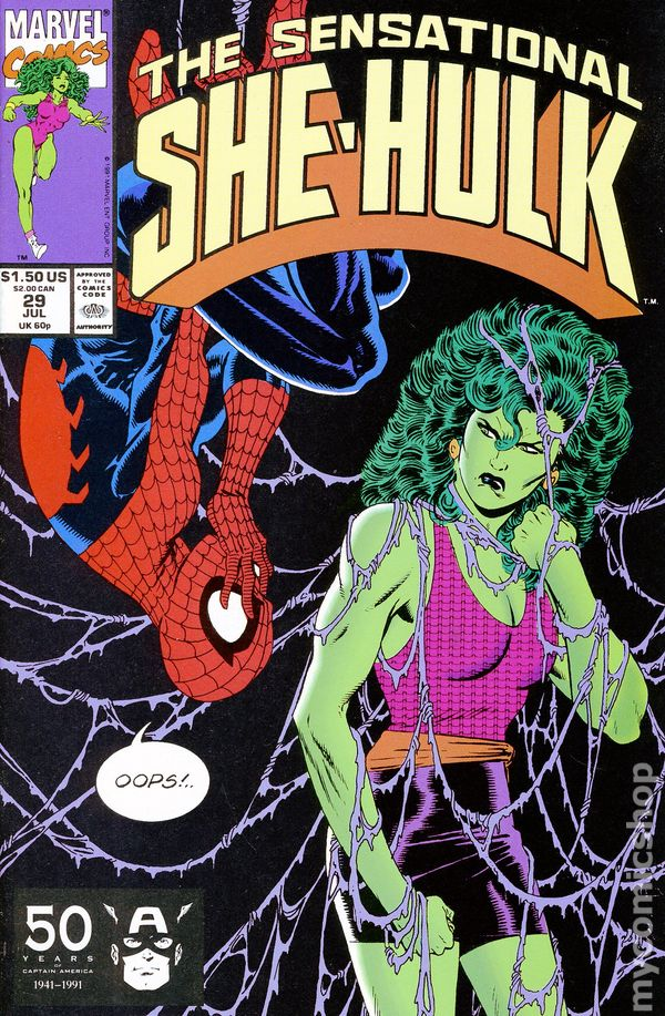 Sensational She Hulk 1989 Comic Books