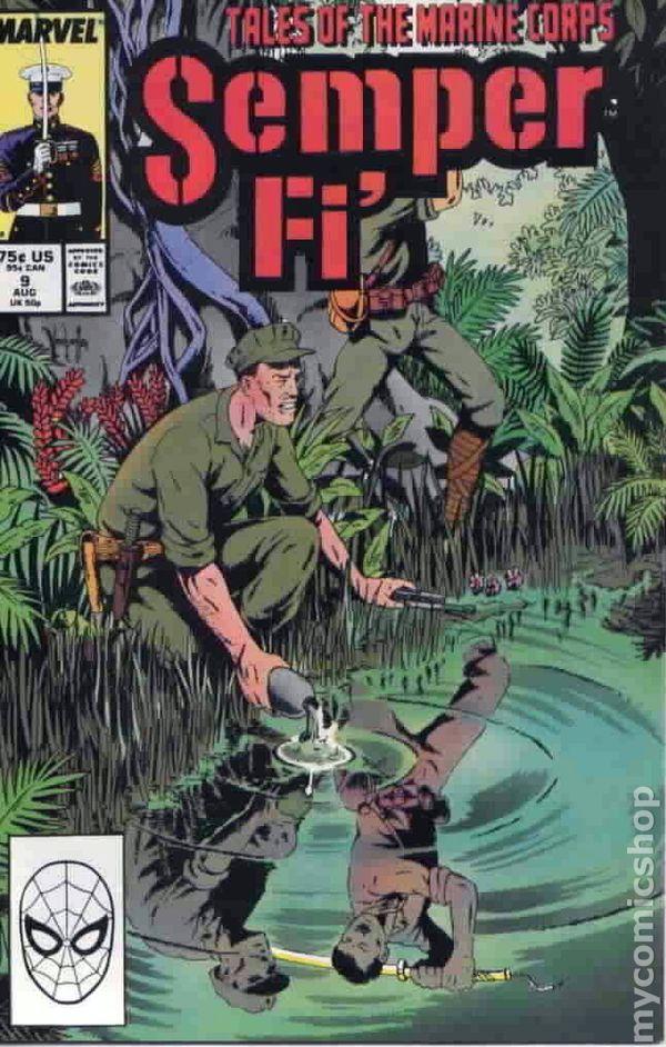 Semper Fi' 1 Marvel 1988