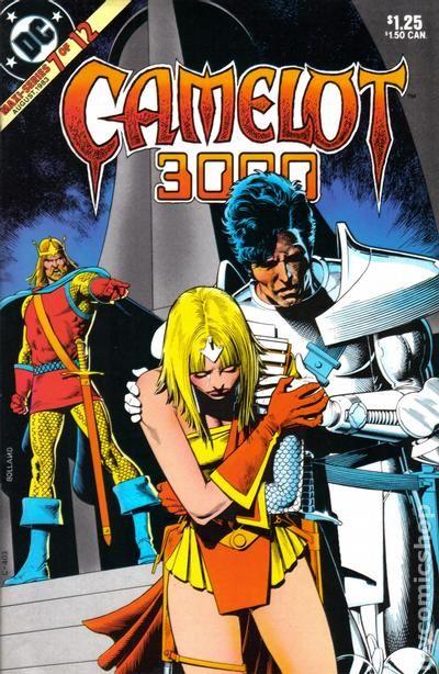 camelot 3000  1982  comic books