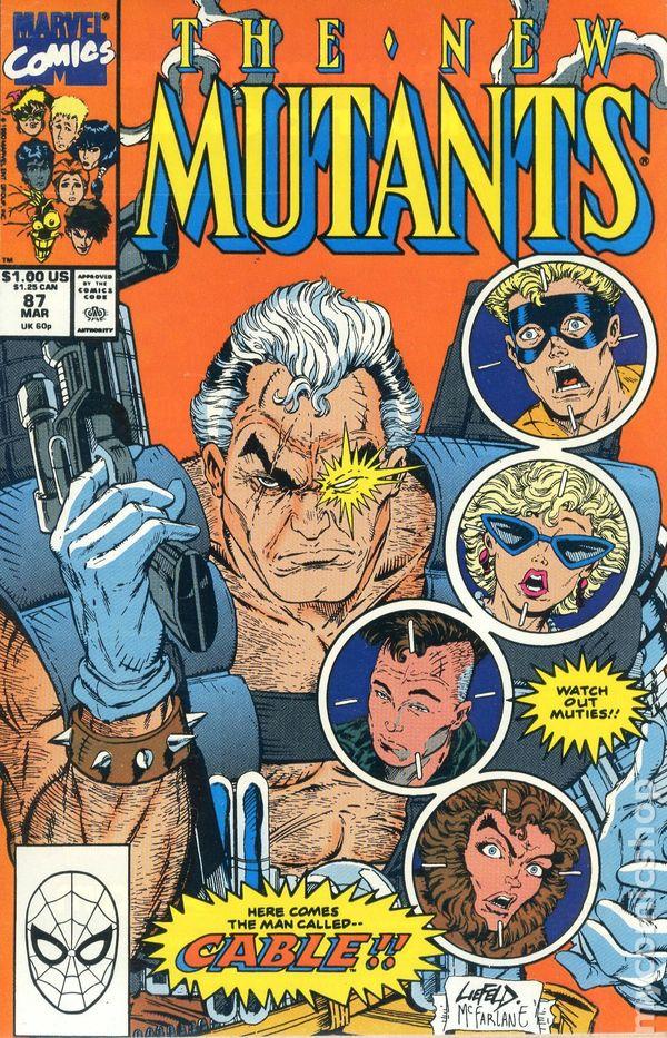 New Mutants #85 Marvel Comics 1983 Series Rob Liefeld 9.2 Near Mint