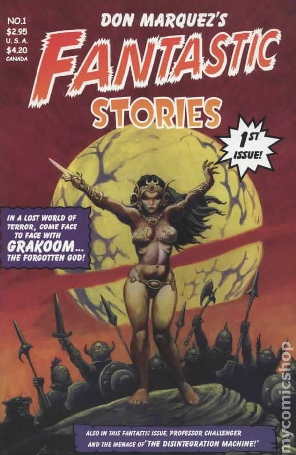 by Don Marquez FANTASTIC STORIES issue #2