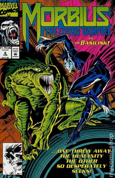 morbius the living vampire  1992  comic books