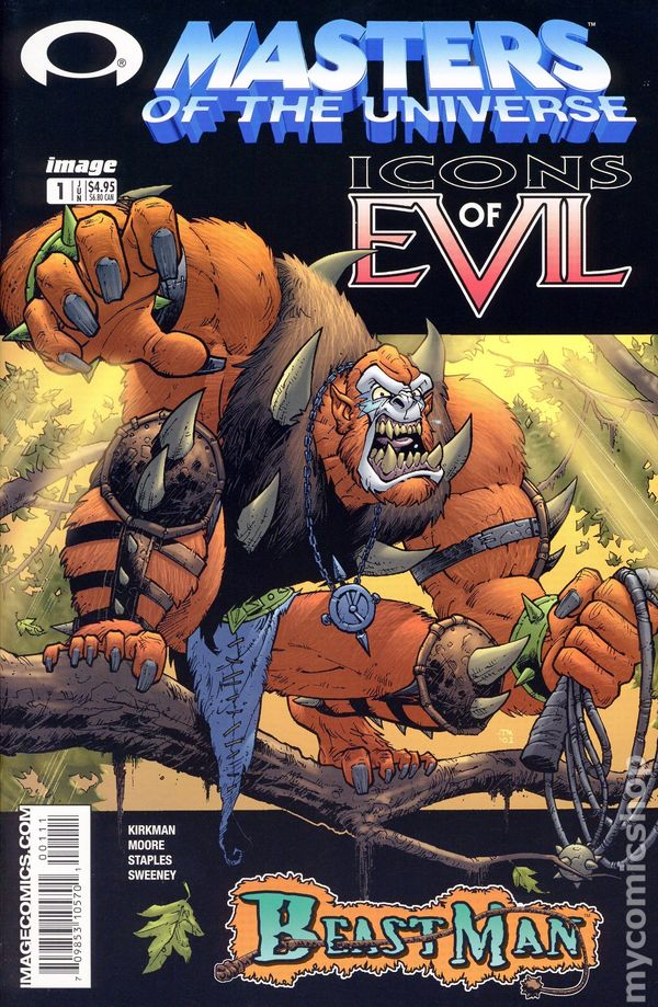 Masters Of The Universe Icons Of Evil Beast Man 2003