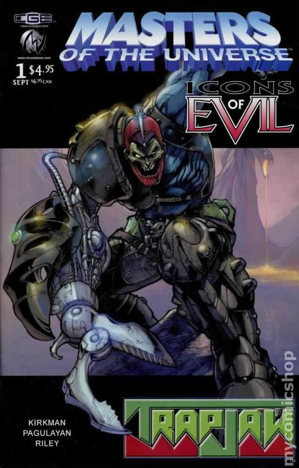 Masters Of The Universe Icons Of Evil Trap Jaw 2003
