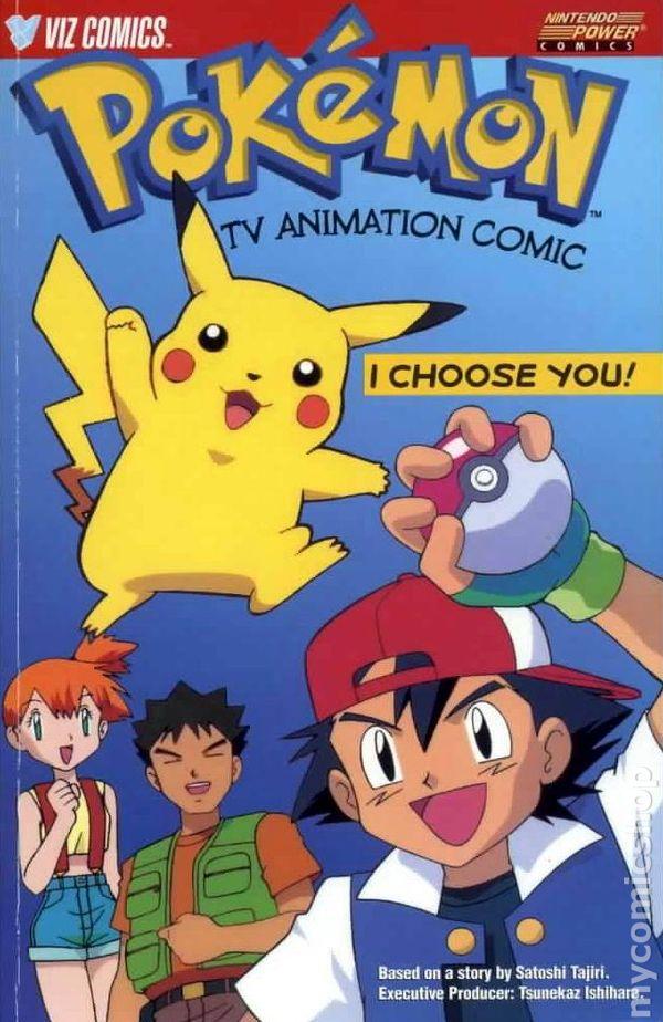 Pokemon Tv Animation Comic I Choose You Tpb 1999 Viz Comic Books