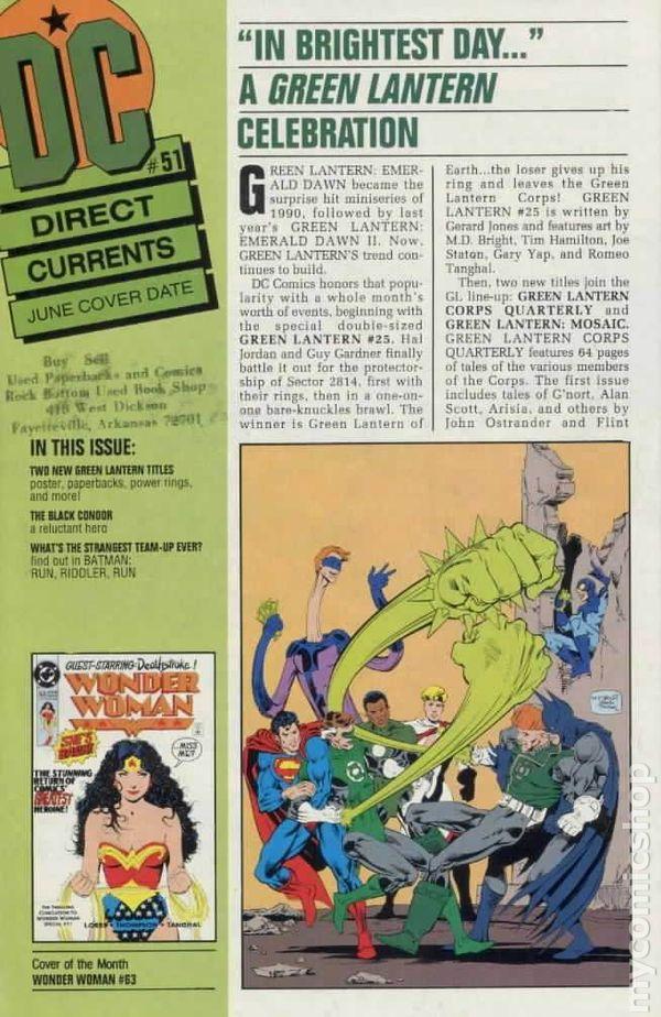 Batman #51 B Cover DC VF//NM Comics Book