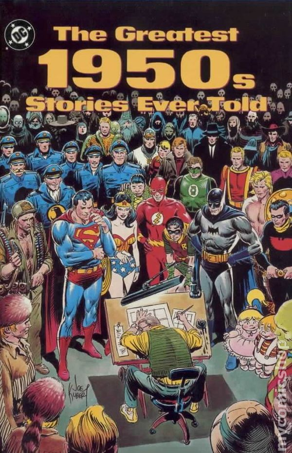 Greatest 1950s Stories Ever Told Hc 1990 Dc Comic Books