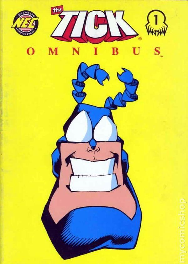 The Tick Omnibus Cover