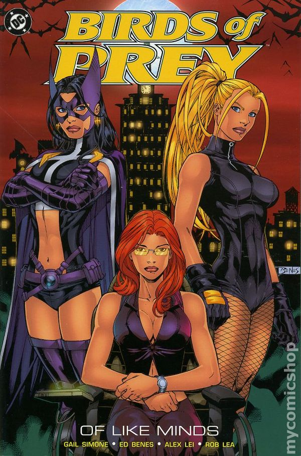 Birds Of Prey Of Like Minds Tpb 2004 Dc Comic Books