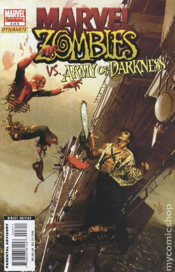 Marvel Zombies Army Of Darkness 2007 Comic Books
