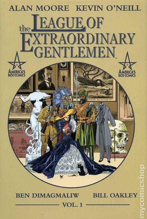 Image result for league of extraordinary gentlemen book
