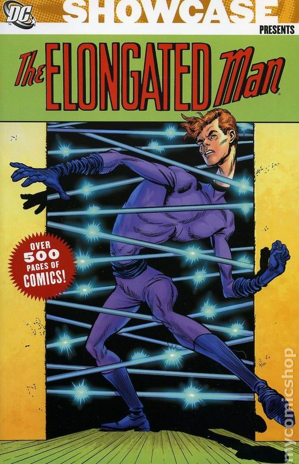 Showcase Presents Elongated Man Tpb 2006 Dc Comic Books