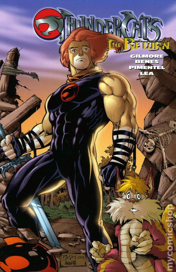 thundercats tpb 20032005 wildstorm comic books