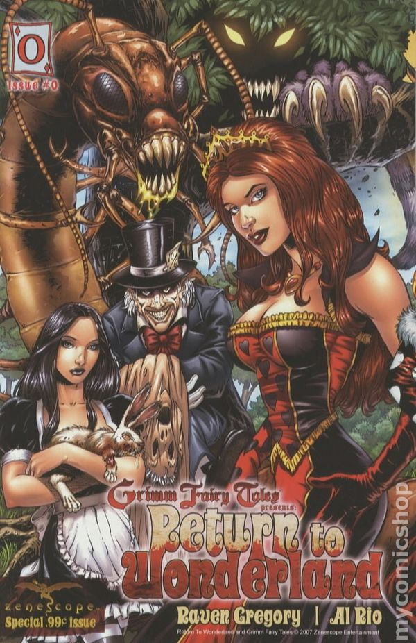Return to Wonderland #2 2nd print VF Zenescope comic Grimm Fairy Tales