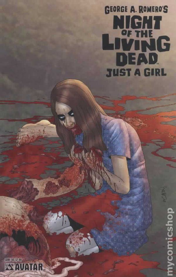 Night of the Living Dead Just a Girl (2006) comic books