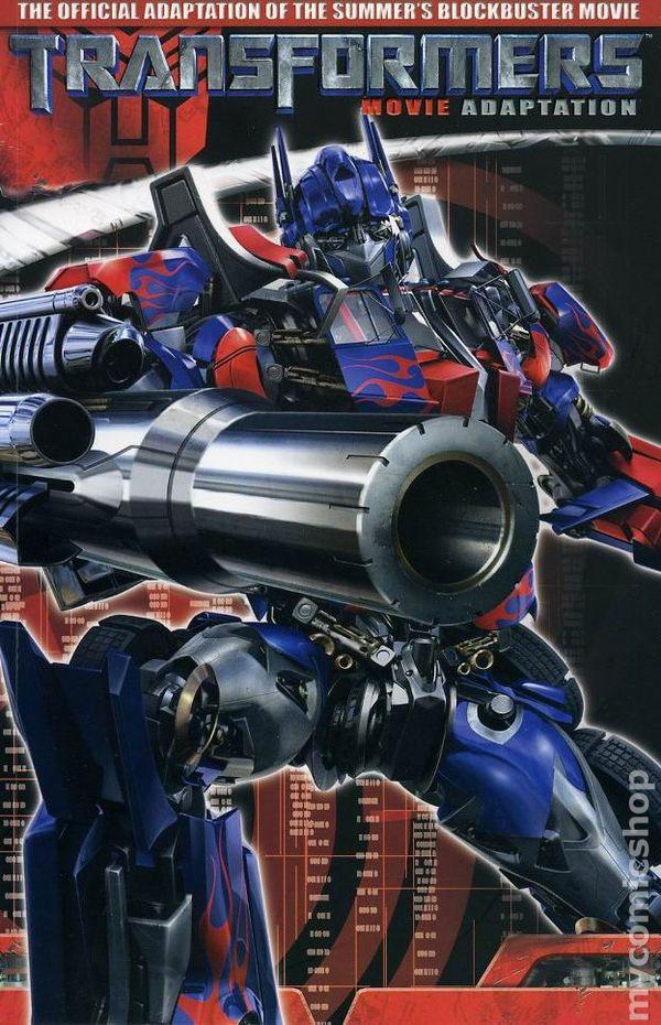 List Of Transformers >> Comic books in 'Transformers The Movie Saga TP'