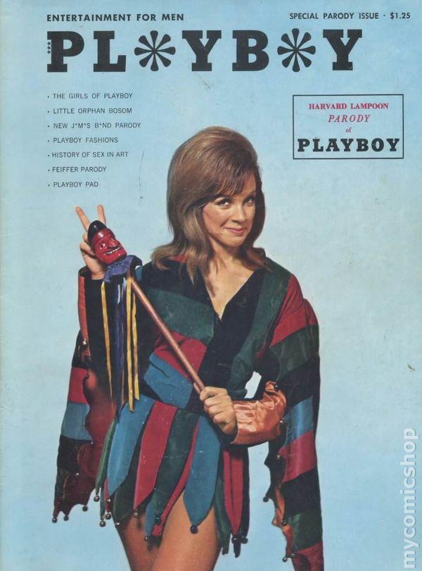 Harvard Lampoon Playboy Parody 1966 Comic Books