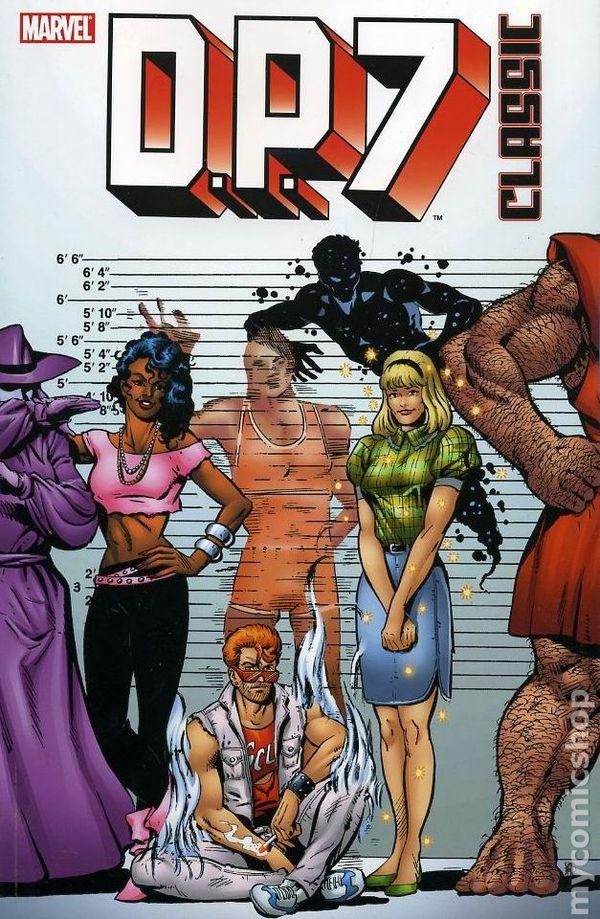 DP7 Classic TPB (2007 Marvel) New Universe comic books