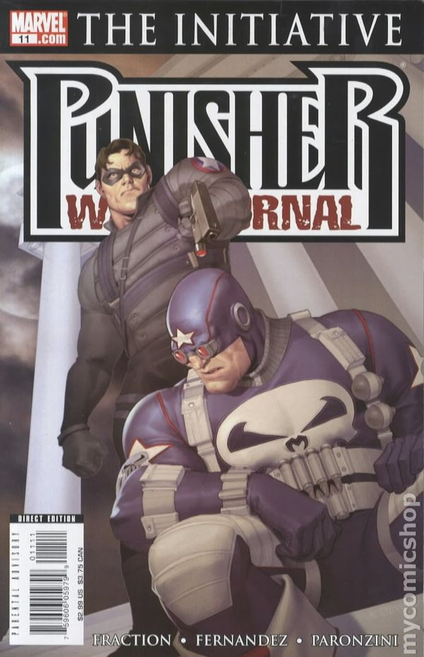 9th Series #15 2012 VG Stock Image Low Grade Punisher